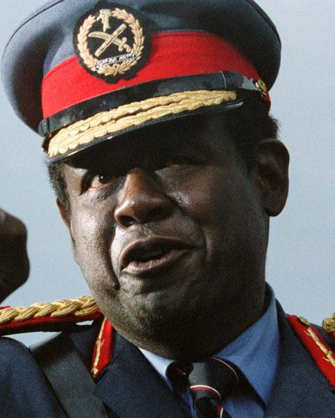 Idi Amin in The Last King of Scotland (2006)